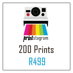Instagram Prints/Mini Polaroid Prints/200 Prints