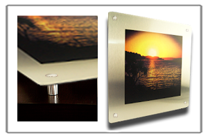 Instagram Prints/Aluminium Prints/Aluminium Prints - with Steel Stand-offs